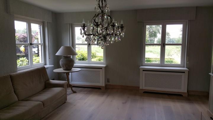 Herinrichting woonkamer, Retie | Decoratiewerken Smets | Retie